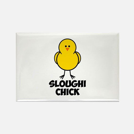 Sloughi Chick Rectangle Magnet (10 pack)