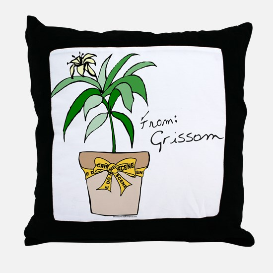 FROM GRISSOM Throw Pillow
