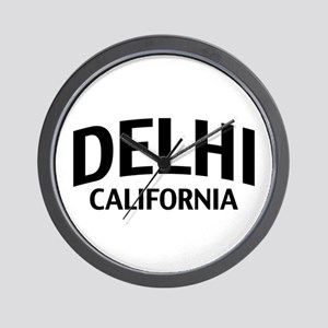 Delhi California Wall Clock