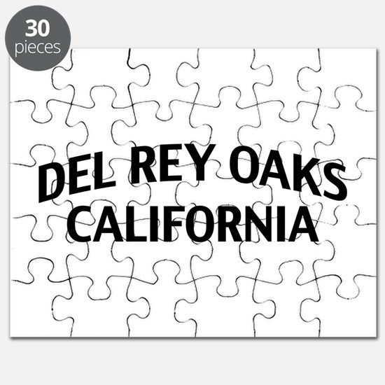 Del Rey Oaks California Puzzle