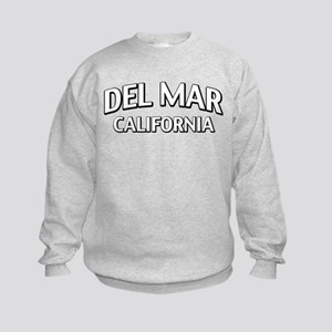 Del Mar California Kids Sweatshirt