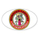 Monster fantasy 4 Sticker (Oval 50 pk)