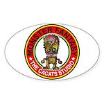 Monster fantasy 5 Sticker (Oval 50 pk)