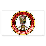 Monster fantasy 5 Sticker (Rectangle 50 pk)