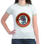 Monster fantasy 6 Jr. Ringer T-Shirt