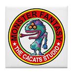 Monster fantasy 6 Tile Coaster