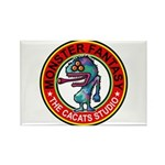 Monster fantasy 6 Rectangle Magnet (100 pack)