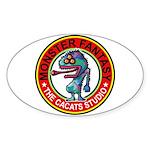 Monster fantasy 6 Sticker (Oval)