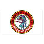 Monster fantasy 6 Sticker (Rectangle 50 pk)