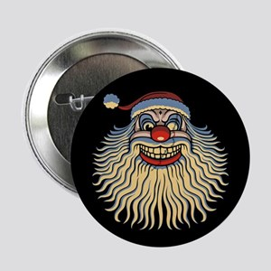 "Scary Santa Clown 2.25"" Button"