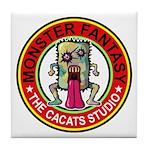 Monster fantasy 4 Tile Coaster