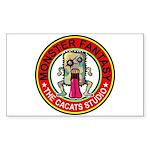 Monster fantasy 4 Sticker (Rectangle 50 pk)