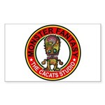 Monster fantasy 5 Sticker (Rectangle 50 pk)