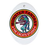 Monster fantasy 6 Ornament (Oval)