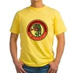 Monster fantasy 6 Yellow T-Shirt