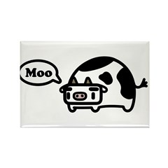 Mooing Cow Rectangle Magnet (10 pack)