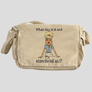 where the hell am I Messenger Bag