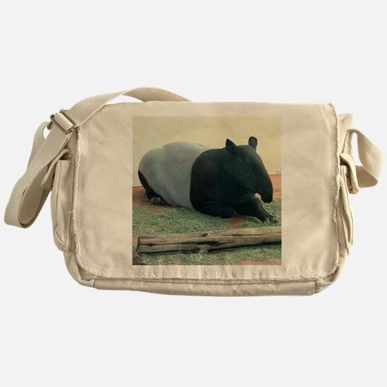 Helaine's Tapir Messenger Bag
