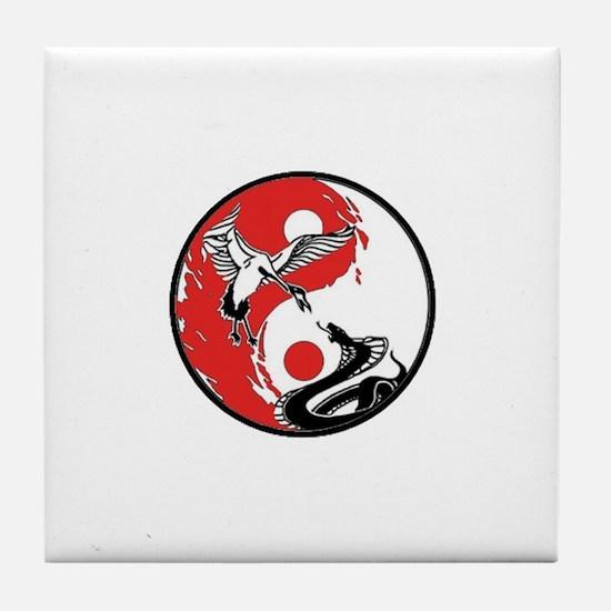Snake & Carne Yin Yang Coaster