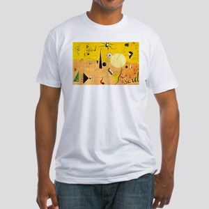 Catalan Landscape: The Hunter Fitted T-Shirt