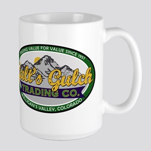 Galt's Gulch Trading Co. Large Mug