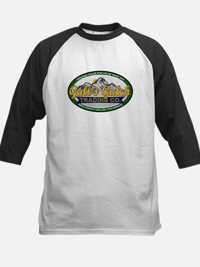 Galt's Gulch Trading Co. Kids Baseball Jersey