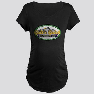 Galt's Gulch Trading Co. Maternity Dark T-Shirt