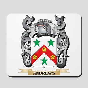 Andrews Family Crest - Andrews Coat of A Mousepad