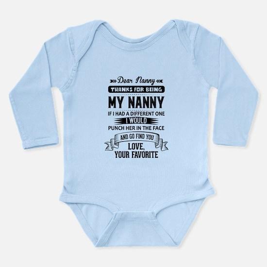 Dear Nanny, Love, Your Favorite Body Suit