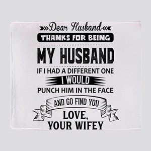 Dear Husband, Love, Your Favorite Throw Blanket