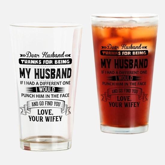 Dear Husband, Love, Your Favorite Drinking Glass