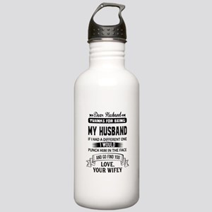 Dear Husband, Love, Your Favorite Water Bottle