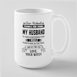 Dear Husband, Love, Your Favorite Mugs