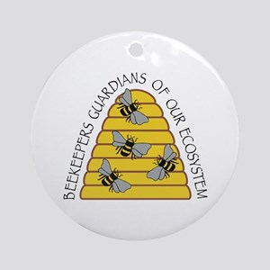Beekeepers Ornament (Round)