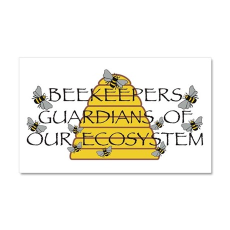 Beekeepers Car Magnet 20 x 12
