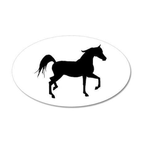 Arabian Horse Silhouette 20x12 Oval Wall Decal  sc 1 st  CafePress & Arabian Horse Wall Art - CafePress
