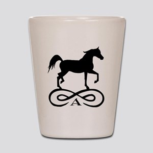 Infinity Arabian Horse Shot Glass