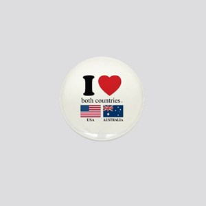 USA-AUSTRALIA Mini Button