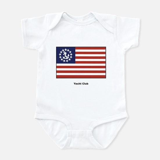Yacht Club Flag Infant Creeper