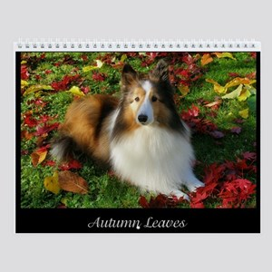 Autumn Leaves Wall Calendar
