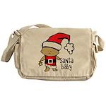 Santa Baby by Vampire Dog Messenger Bag