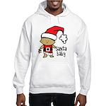Santa Baby by Vampire Dog Hooded Sweatshirt