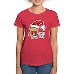 Santa Baby by Vampire Dog Women's Dark T-Shirt