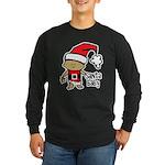 Santa Baby by Vampire Dog Long Sleeve Dark T-Shirt