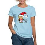 Santa Baby by Vampire Dog Women's Light T-Shirt