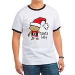 Santa Baby by Vampire Dog Ringer T
