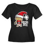 Santa Baby by Vampire Dog Women's Plus Size Scoop