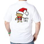 Santa Baby by Vampire Dog Golf Shirt