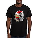 Santa Baby by Vampire Dog Men's Fitted T-Shirt (da