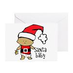 Santa Baby by Vampire Dog Greeting Cards (Pk of 10
